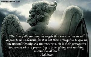 Demon Quotes. Q... Angel And Evil Quotes
