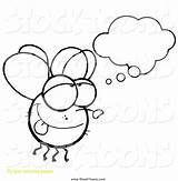Fly Cartoon Daydreaming Guy Coloring Pages Toon Print Clipart Hit Getcolorings Printable Remarkable sketch template