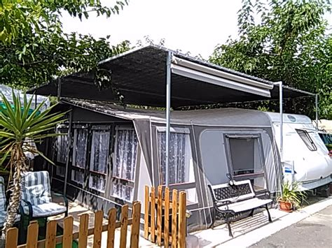 Hobby Caravan & Awning For Sale