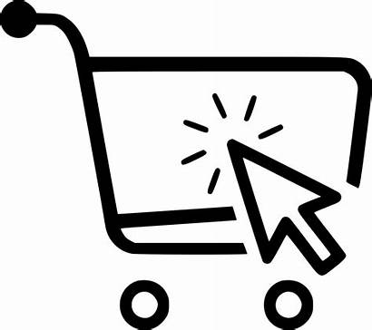 Icon Commerce Retail Ecommerce Business Purchase Svg