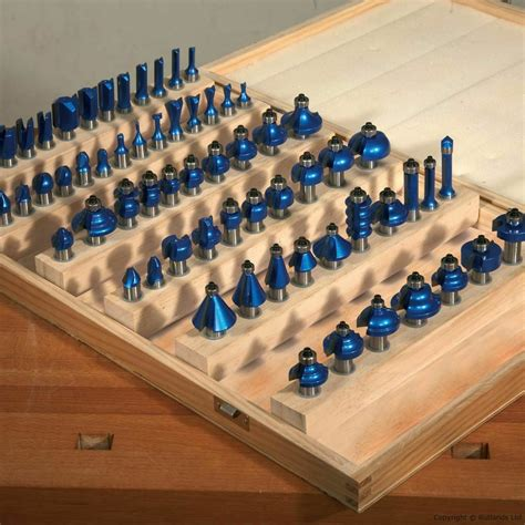 tct professional router cutter set  piece   shank