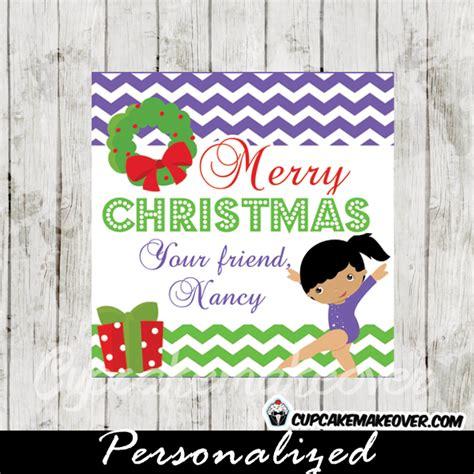 best gymnastics christmas gifts gift tags printable purple gymnastics cupcakemakeover
