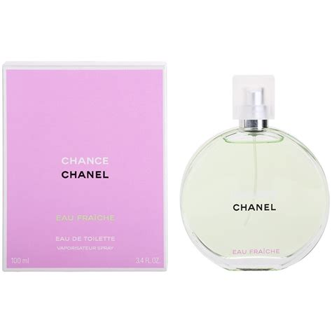chanel chance eau fraiche eau de toilette for 3 4 oz beautyspin