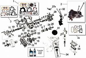 Dana Model 18 Transfer Case Parts For Cj Willys