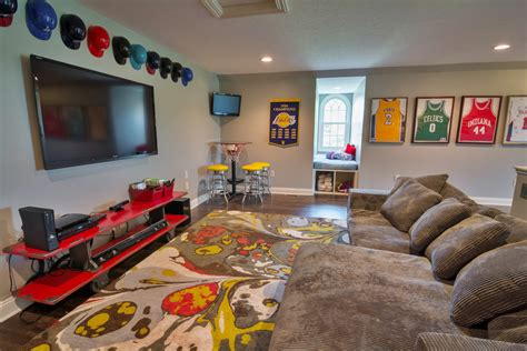 Kids Sports Room-jb Woodruff Design