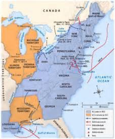 War 1812 Battle Map