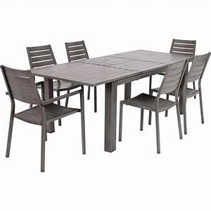 Table Bois Rectangulaire : table bois leroy merlin ~ Teatrodelosmanantiales.com Idées de Décoration