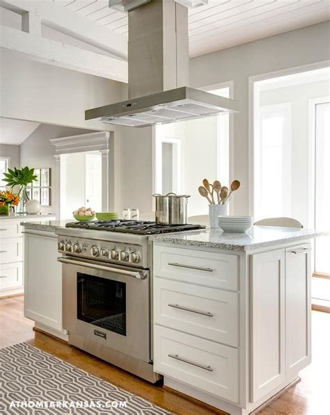 kitchen islands with stove kitchen island with freestanding stove transitional