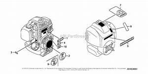 Honda Engines Gx25 Wa Engine  Jpn  Vin  Gcaam