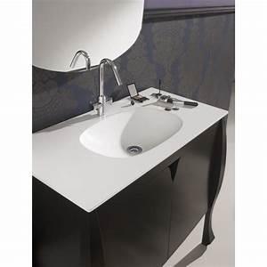 meuble salle de bain vasque meubles style retro With meubles salle de bain design
