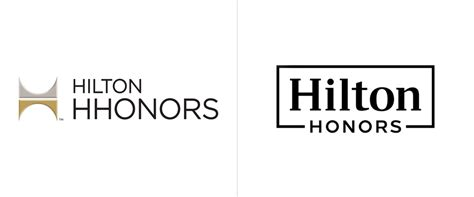 Brand New: New Logos and Identity for Hilton and Hilton Honors