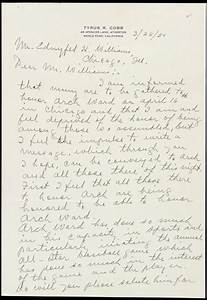lot detail 1950 ty cobb detroit tigers handwritten With ty cobb letter