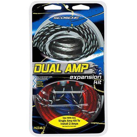 Scosche Kdadd Awg Amp Add Wiring Kit Walmart