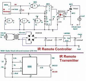 Infrared Remote Control Circuit Diagram  61343