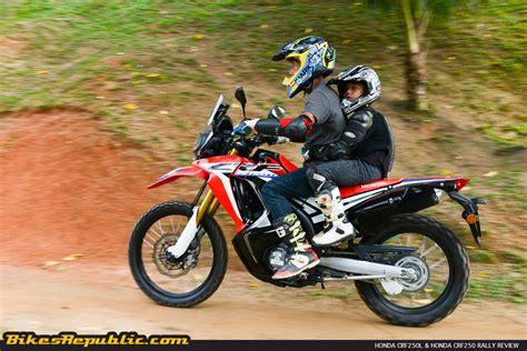 Honda Crf250rally by Honda Crf250l Crf250 Rally Test Review Bikesrepublic