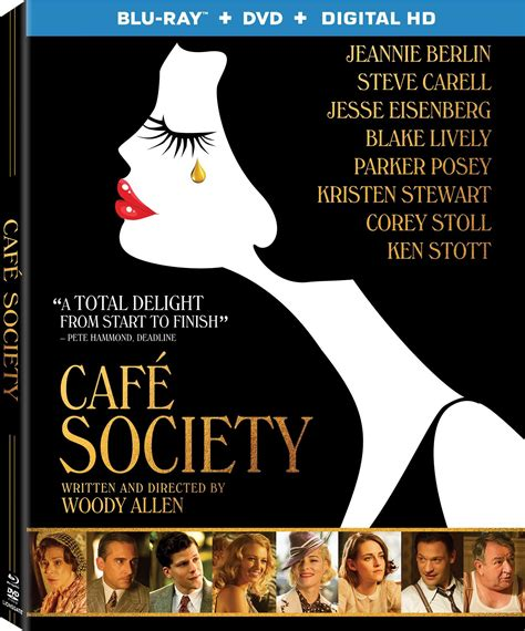 Cafe Society Dvd Release Date October 18, 2016