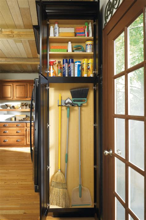 utility organizer cabinet kemper cabinetry