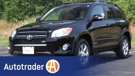 toyota rav suv  car review autotrader youtube
