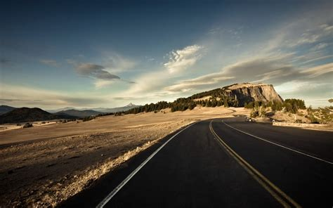cliff nature road desert wallpapers cliff nature road