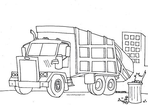 garbage truck coloring page garbage truck coloring pages coloring pages