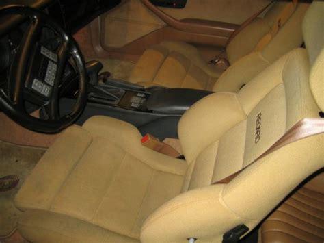 illinois recaro seats tan   bodys  trans
