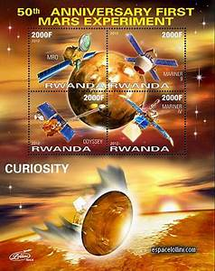 My Life on Mars: Postage Stamps from Rwanda