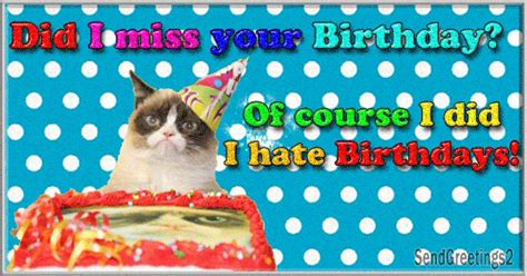 belated birthday wishes ecards