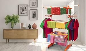 Wäscheständer Zum Ausziehen : bis zu 75 rabatt zusammenklappbarer w schest nder groupon ~ Watch28wear.com Haus und Dekorationen
