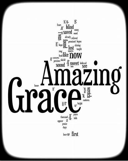 Grace Lyrics Amazing Clipart Clip Word Words