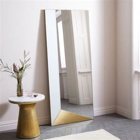 floor mirror west elm 191 best images about mirrors on pinterest contemporary floor mirrors rope mirror and birch lane