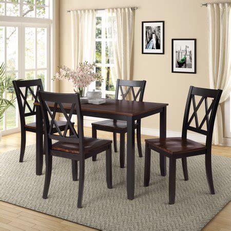 clearanceblack dining table set   modern  piece