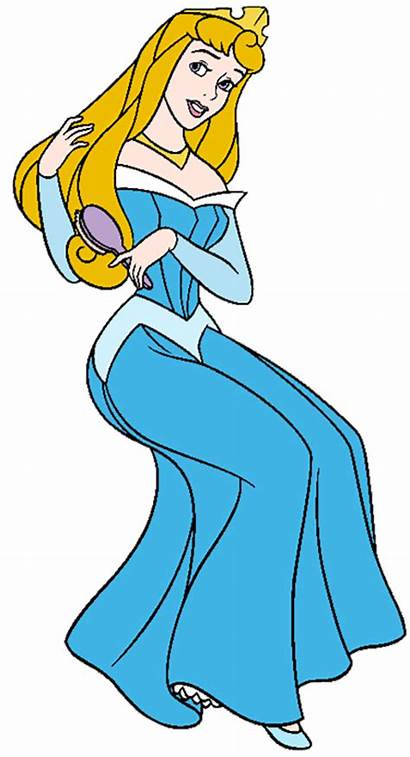 Sleeping Beauty Aurora Clip Hair Disney Brushing