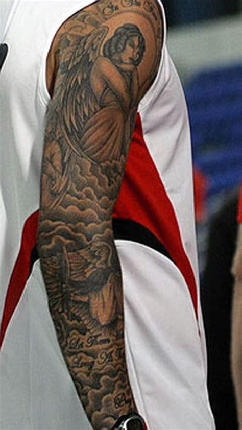 david beckhams tattoo timeline  history  body art