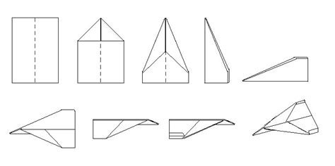 papierflieger selber basteln papierflieger bauanleitung 187 bauplan