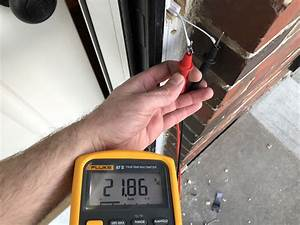 Measuring Doorbell Wire Voltage