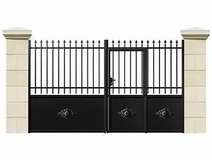Portail 4 Metres 2 Vantaux : portail ~ Edinachiropracticcenter.com Idées de Décoration