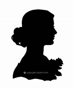 silhouette woman face - Google Search | Labels | Pinterest