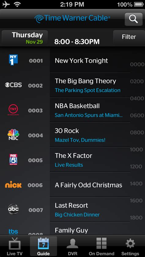time warner phone app twc tv app is updated with iphone 5 support thousands of
