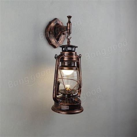 retro antique vintage exterior lantern wall l bar cafe