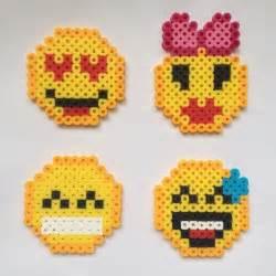 Pattern Perler Bead Emoji