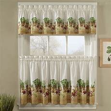 Look Beautiful Kitchen Curtains  12 Collections Beautiful