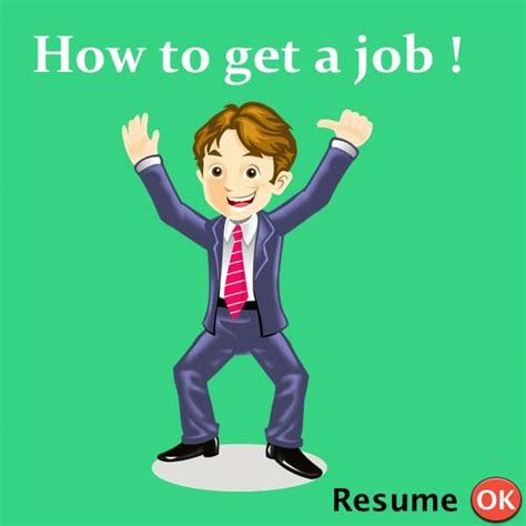 How To Get A Resume how to get a