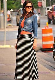 Maxi Skirt Street-Style