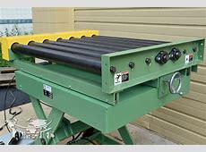 Custom Scissor Lift #3392426 Powered Roller Conveyor