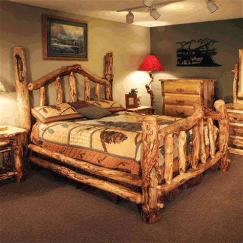 colorado aspen wild grizzly bed