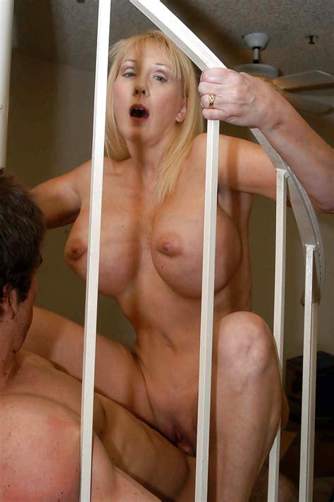 Mature Blonde Diane Diamonds Using Her Tits And Cunt In