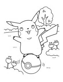 Pokemon Characters Coloring Pages Printable