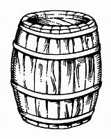 Barrel Drawing Wine Clipart Pirate Wooden Line Getdrawings Billy Bucket Dunn Ken Webstockreview Cyprus Lapta Notes sketch template