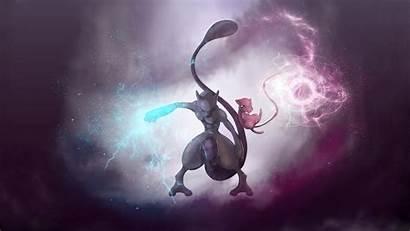 Pokemon Badass Mewtwo Mew Epic Legendary