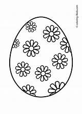 Easter Egg Coloring Pages Template Eggs Colouring Printable Carton Sheets Drawing Prinables Spring Colorings Print Printables Designs Bunny Outline Cute sketch template